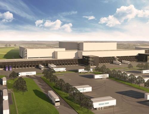 Amatech opfører nyt tørvarelager for Reitan Distribution