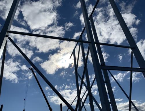 Reitan Tørvarelager – Stålkonstruktion og betonelementer er opstartet